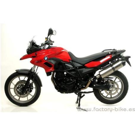 ARROW BMW F 700 GS '12/13 2:1 STEEL COLLECTORS FOR ORIGINAL AND ARROW SILENCERS