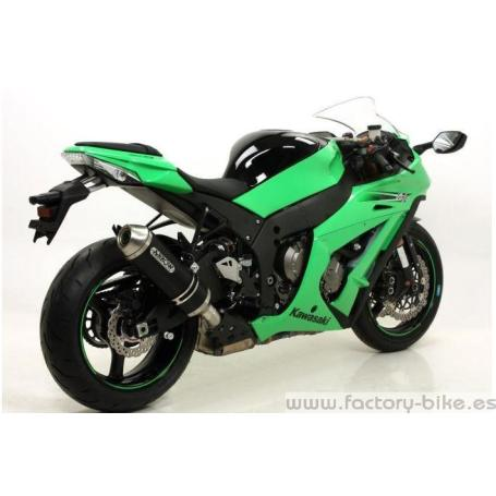 ARROW KAWASAKI ZX-10 R '11 STAINLESS STEEL MID-PIPE FOR ARROW COLLECTORS AND PRO-RACING ARROW SILENCERS