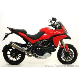 ARROW DUCATI MULTISTRADA 1200 '10/11 STAINLESS STEEL 2:1 COLLECTORS FOR ARROW SILENCERS