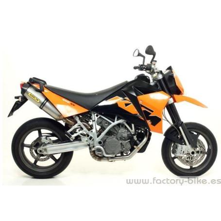 ARROW KTM 950 SM '06/09 STAINLESS STEEL 1:2 MID-PIPE