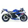 ARROW SUZUKI GSX-R 600/750 '08-10 STAINLESS STEEL MID-PIPE FOR ORIGINAL COLLECTORS AND ARROW SILENCERS