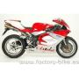 ARROW MV AGUSTA F4 1000 '04-'06 4:2:1:2 STAINLESS STEEL COLLECTORS