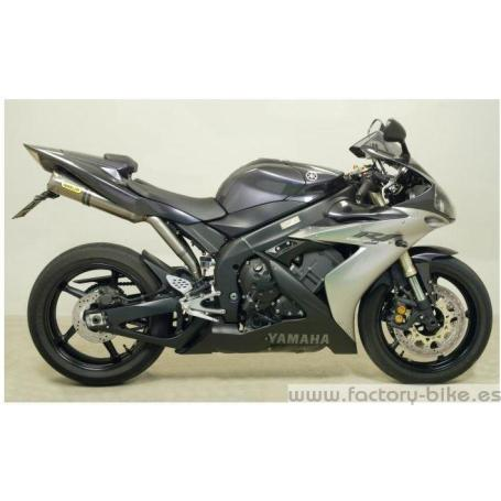 ARROW YAMAHA YZF R1 '04 CENTRAL MID-PIPE FOR ARROW AND STOCL COLLECTORS