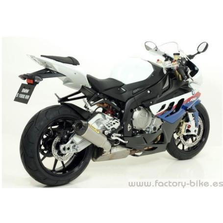 ARROW BMW S 1000 RR '09/13 FULL TITANIUM FULL SYSTEM HIGH VERSION WITH RACE TECH SILENCER WITH CARBON END CAP