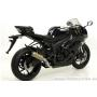 ARROW KAWASAKI ZX-6R '09-10 EVO FULL TITANIUM COMPETITION FULL SYSTEM WITH CARBON END-CAP AND DB-KILLER