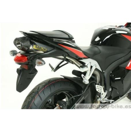 ARROW HONDA CBR 600 RR '09 COMPETITION FULL TITANIUM FULL SYSTEM WITH DB-KILLER AND CARBON END-CAP