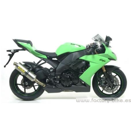 ARROW KAWASAKI ZX-10 R '08 FULL TITANIUM FULL SYSTEM COMPETITION WITH DB KILLER AND CARBON END-CAP