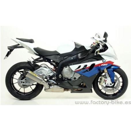 ARROW BMW S1000 RR '09/13 GP2 RACING TITANIUM SILENCER AND STAINLESS STEEL MID-PIPE