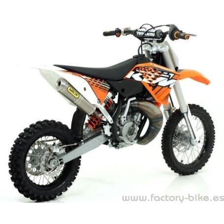 ARROW KTM SX 65 '10/11 TITANIUM MINITHUNDER SILENCER INTERCHANGEABLE WITH ORIGINAL EXHAUST