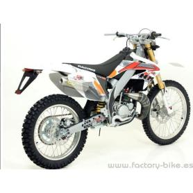 ARROW HM CRE 50 BAJA '03/08/DERAPAGE 50'03/'08 RACING EXHAUST SYSTEM FOR STOCK AND ARROW COLLECTORS
