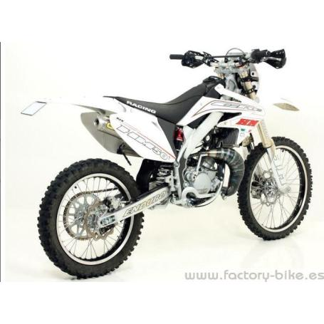 ARROW HM CRE 50 BAJA RR-50 SIX COMPETITION-50 DEPARAGE RR-50 DERAPAGE COMPETITION EXHAUST FOR STOCK AND ARROW COLLECTORS