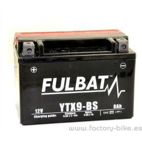 BATTERY FULBAT YTX9-BS