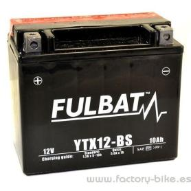 BATTERY FULBAT YTX12-BS
