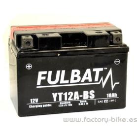 BATTERY FULBAT YT12A-BS