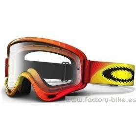 GAFA OAKLEY O FRAME MX SWELL FADE RED YELLOW