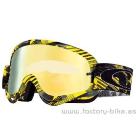 GAFA OAKLEY O FRAME MX DIGI SLASH YELLOW