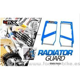 REINFORCEMENTS RADIATOR 4MX HUSABERG 09-14 HUSQVARNA 14-16 BLUE
