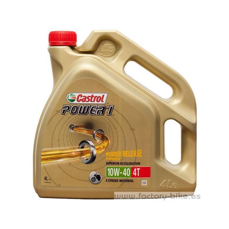 Castrol Power 1 10w40 - Garrafa de 4 litros