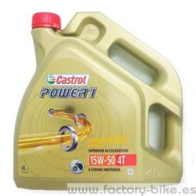 OIL CASTROL POWER1 GPS 15W50 4L