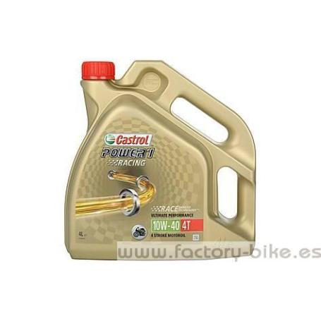 CASTROL POWER1 10W40 RACING solo 28 euros