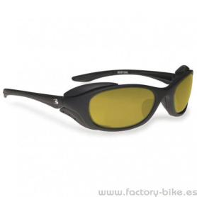 SUNGLASSES BERTONI RUBBER LENS YELLOW