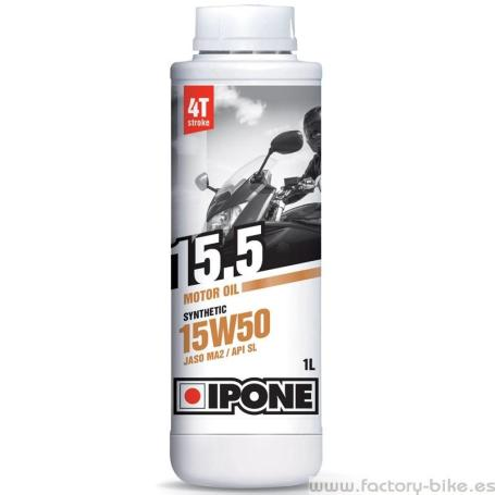 IPONE ACEITE MOTOR 15W50 SYNTHETIC 1L