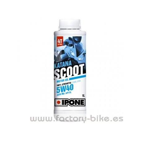 ACEITE MOTOR SCOOT 5W40 SYNTHETIC KATANA