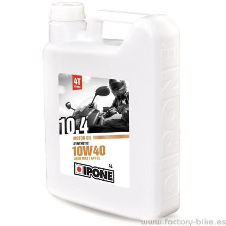 IPONE ACEITE DE MOTO 10W40 SYNTHETIC 4L