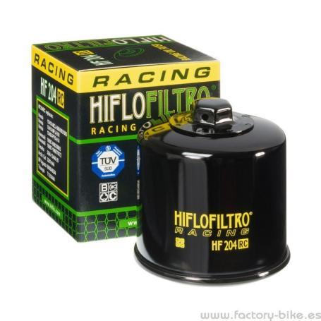 FILTRO DE ACEITE PARA MOTO HF204RC