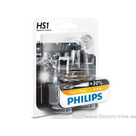 BOMBILLA PHILIPS HS1 VISION MOTO