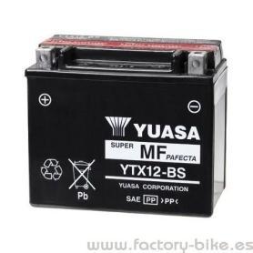 BATTERY YUASA YTX12-BS