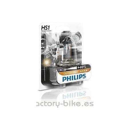 BOMBILLA PHILIPS HS1 CITY VISION MOTO