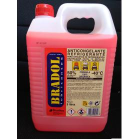 BRADOL ANTIFREEZE 50% 5L