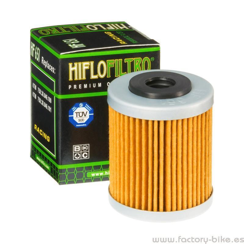 Filtro de aceite Hiflofiltro HF651
