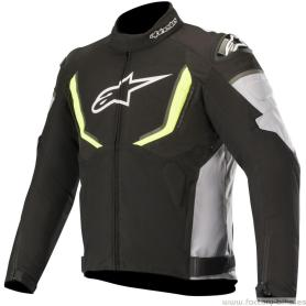 Chaqueta ALPINESTARS T-GP R V2 Waterproof Black / Gray / Yellow Fluo