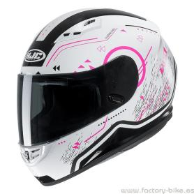 Casco HJC CS-15 SAFA BLANCO ROSA