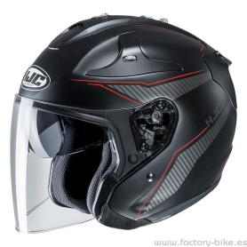 Helmet HJC FG-JET JIKE BLACK RED