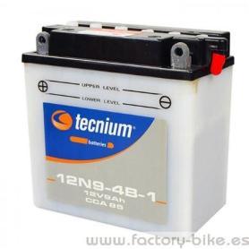 Battery Tecnium 12N9-4B1 fresh pack