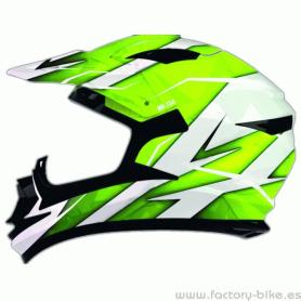 HELMET SHIRO MX734 TROY FLUOR