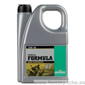 ACEITE MOTOREX FORMULA 4T 15W/50 4L