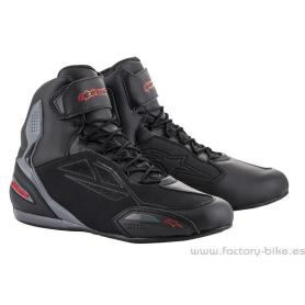 Botas ALPINESTARS Faster-3 Drystar Black Grey Red