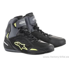Botas ALPINESTARS Faster-3 Drystar Black Grey Yellow