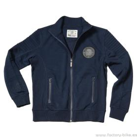 CAZADORA MV AGUSTA ZIP-UP SWEATER BLUE
