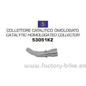 Colector Arrow catalizado homologado Piaggio Vespa GTS 300 08-15