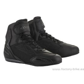 CHAUSSURES ALPINESTARS FASTER-3 CHARGEUR NOIR COOL GRIS