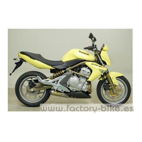 ARROW KAWASAKI ER-6N/ F'05/VERSYS 650 '07 CARBY HOMOLOGATED EXHAUST FOR STOCK COLLECTORS