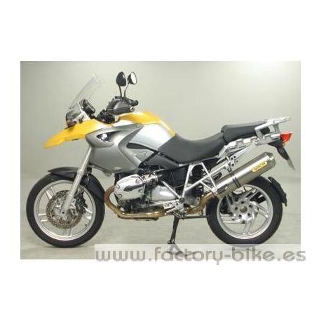 ARROW BMW R 1200 GS '04 / GS ADVENTURE '08 TITANIUM MAXI RACE-TECH HOMOLOGATED SILENCER