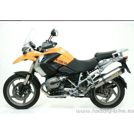 ARROW BMW R 1200 GS '04/ GS ADVENTURE '08 ALUMINIUM MAXI RACE-TECH HOMOLOGATED SILENCER