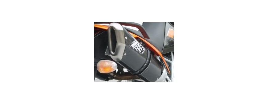 Exhausts for motorcycle and scooter. Online store