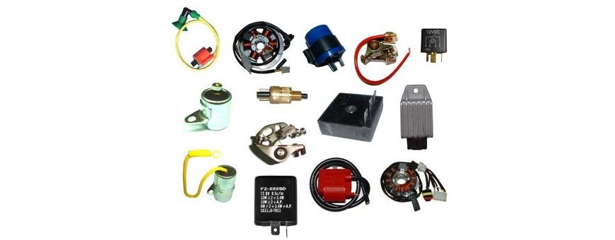 Recambios parte eléctrica para moto. Tienda online